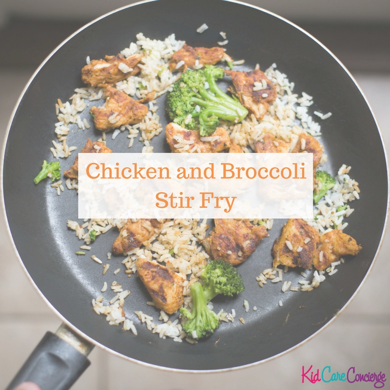 20 Minute Chicken and Broccoli Stir Fry
